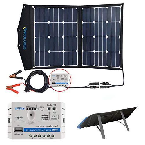 foldable solar panel kit portable