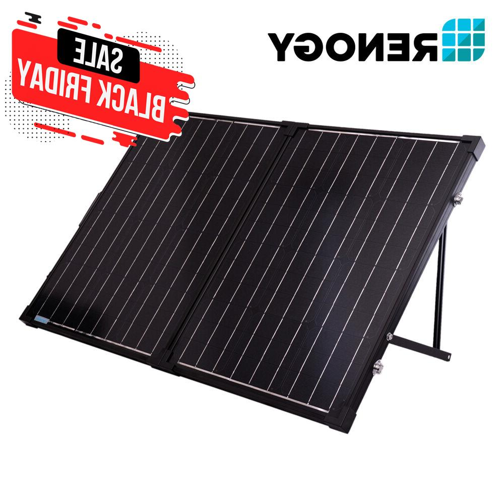 foldable solar suitcase kit mono
