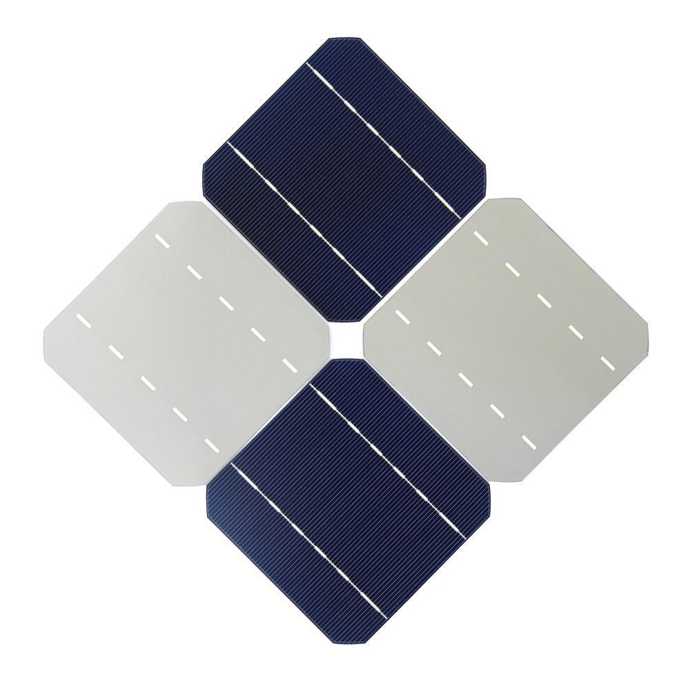 <font><b>100W</b></font> <font><b>Solar</b></font> Charger Kit 40Pcs Monocrystall <font><b>Solar</b></font> 20M Tabbing Wire 2M Busbar Flux