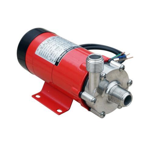 10W Food Magnetic Drive Pump 15R w/ 304 Wine
