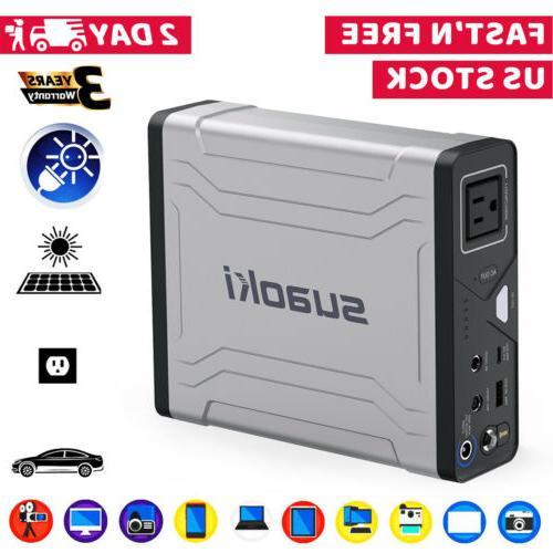 g100 100wh portable solar generator 27 000mah