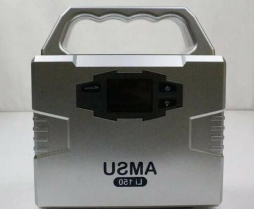 Solar Power Source Portable Battery Hybrid 150