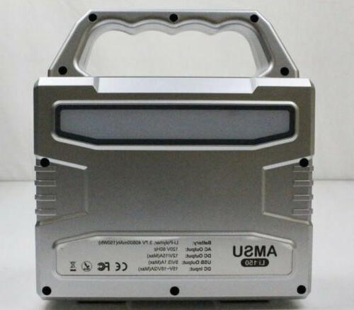 Solar Generator Inverter Hybrid 150 Wh