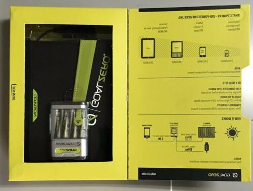Goal Zero Plus Solar Kit Sealed