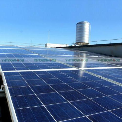500W Kit: 5x PV Solar Solar System RV