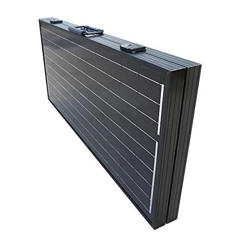 ECO-WORTHY 120 12Volt Off Grid Monocrystalline Foldable Panel with Charge Controller