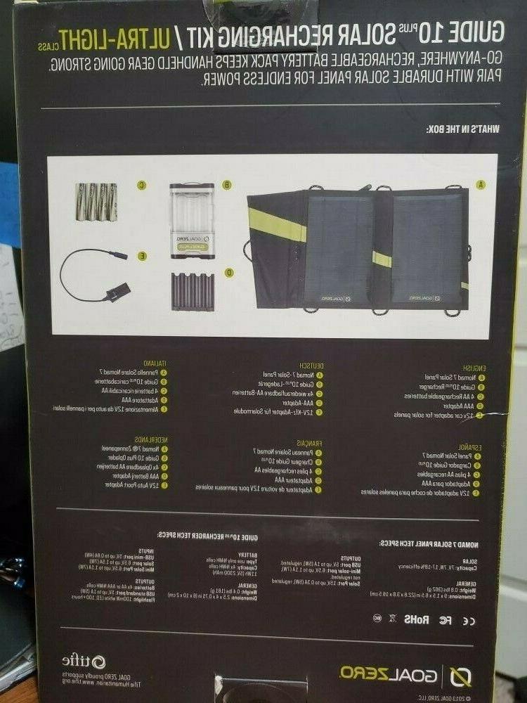 Goal Guide 10 Plus Recharging Kit NEW