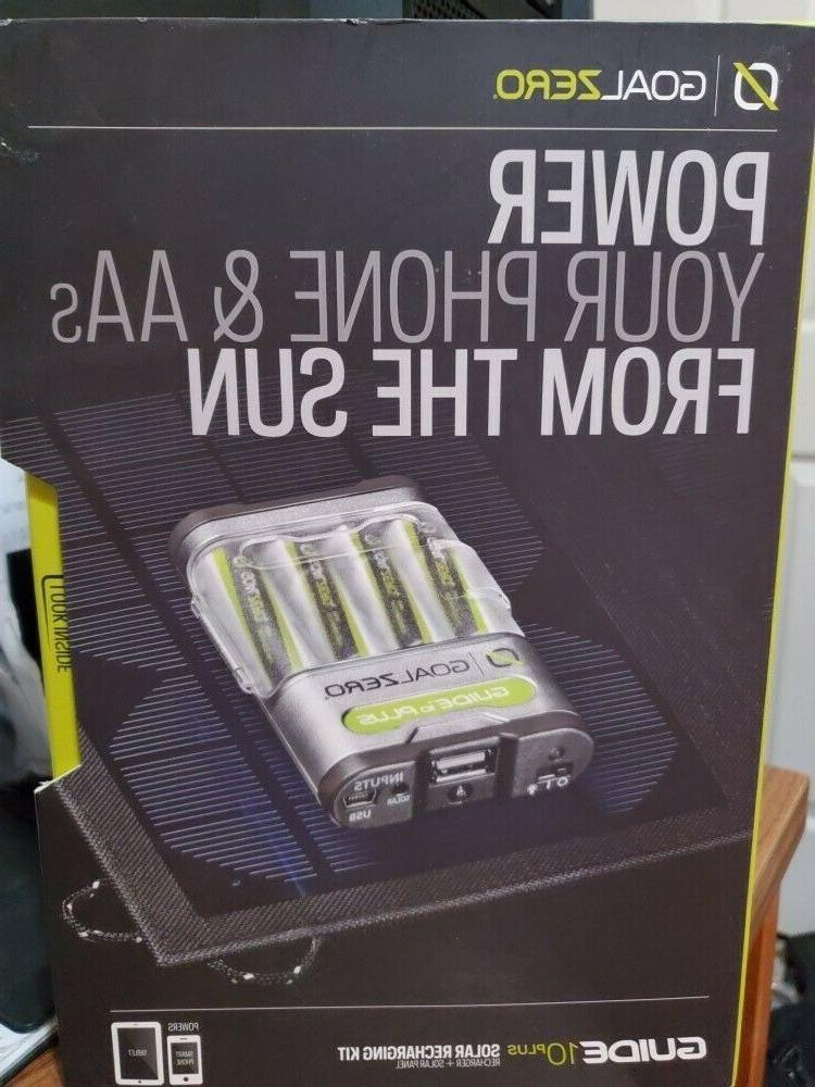 guide 10 plus solar recharging kit new