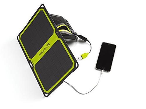 Goal Zero with Nomad 7 Solar Panel