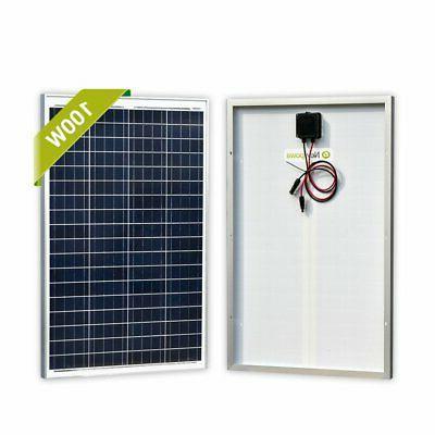 high quality 1pcs 100w 12v poly solar