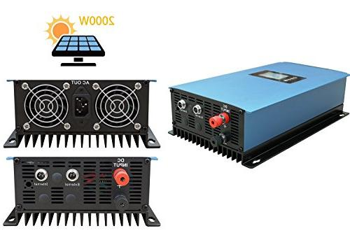 ECO Grid Tie 12pcs 150W & Power Charging 110V