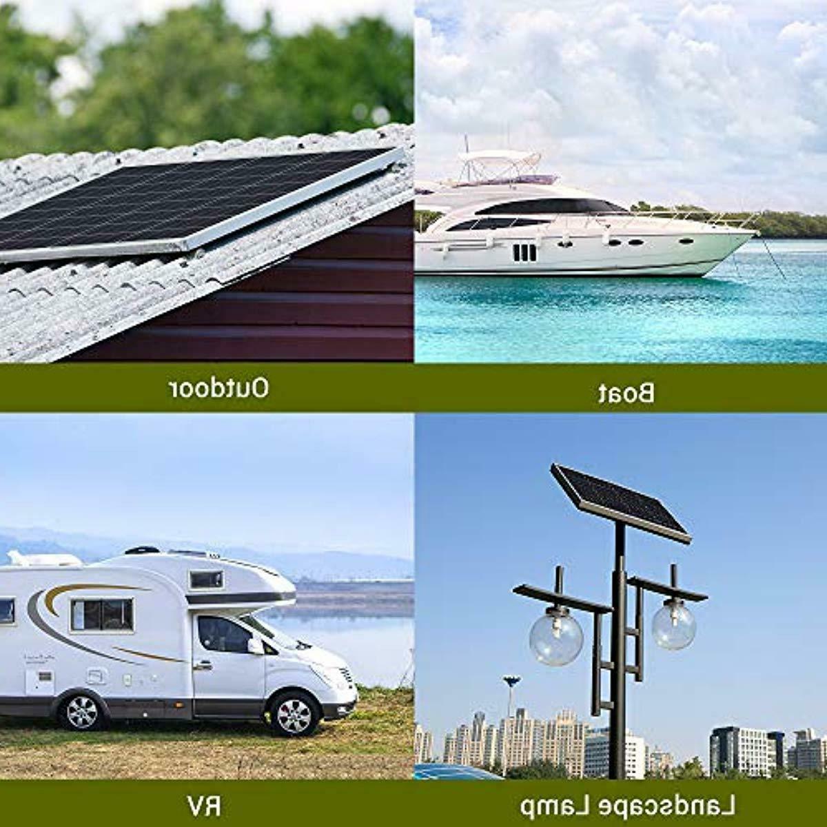 Solar Panel 12 Volt Power RV Car Boat Camping