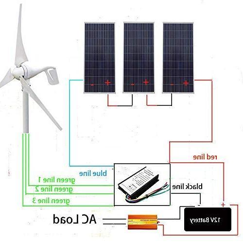 ECO LLC Solar-Wind Kit 400W Wind Solar Inverter