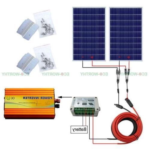 200Watt Solar Panel Power