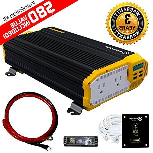 kri ger power inverter dual