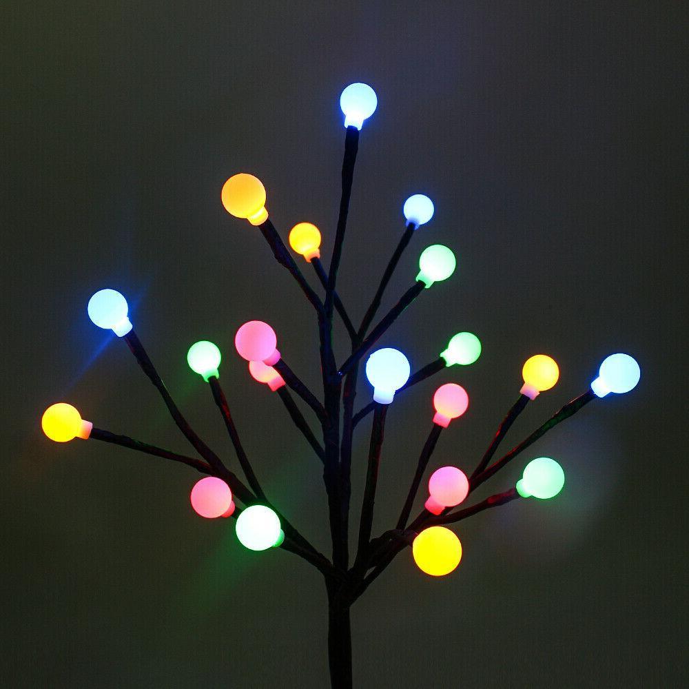 LED Solar Stake Lights Yard Decor