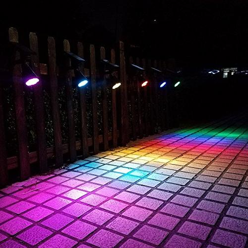 Lepord SETS LED Solar Spot for Landscape Spotlights Sensing Auto Lights For Yard Patio Lawn
