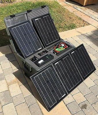 Lithium Tactical Solar Power