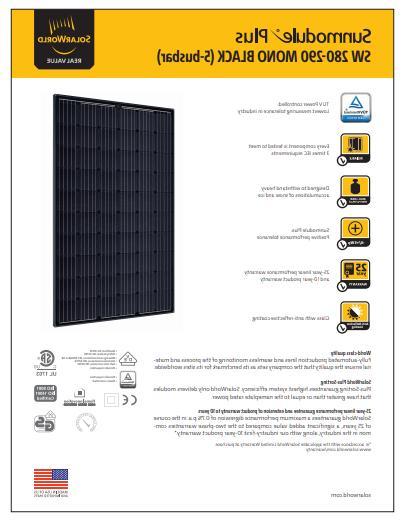 LOT OF SolarWorld PANELS