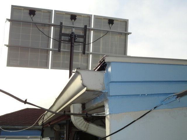 "Mars Solar Panel / 2"" Pole Mount 40W -"