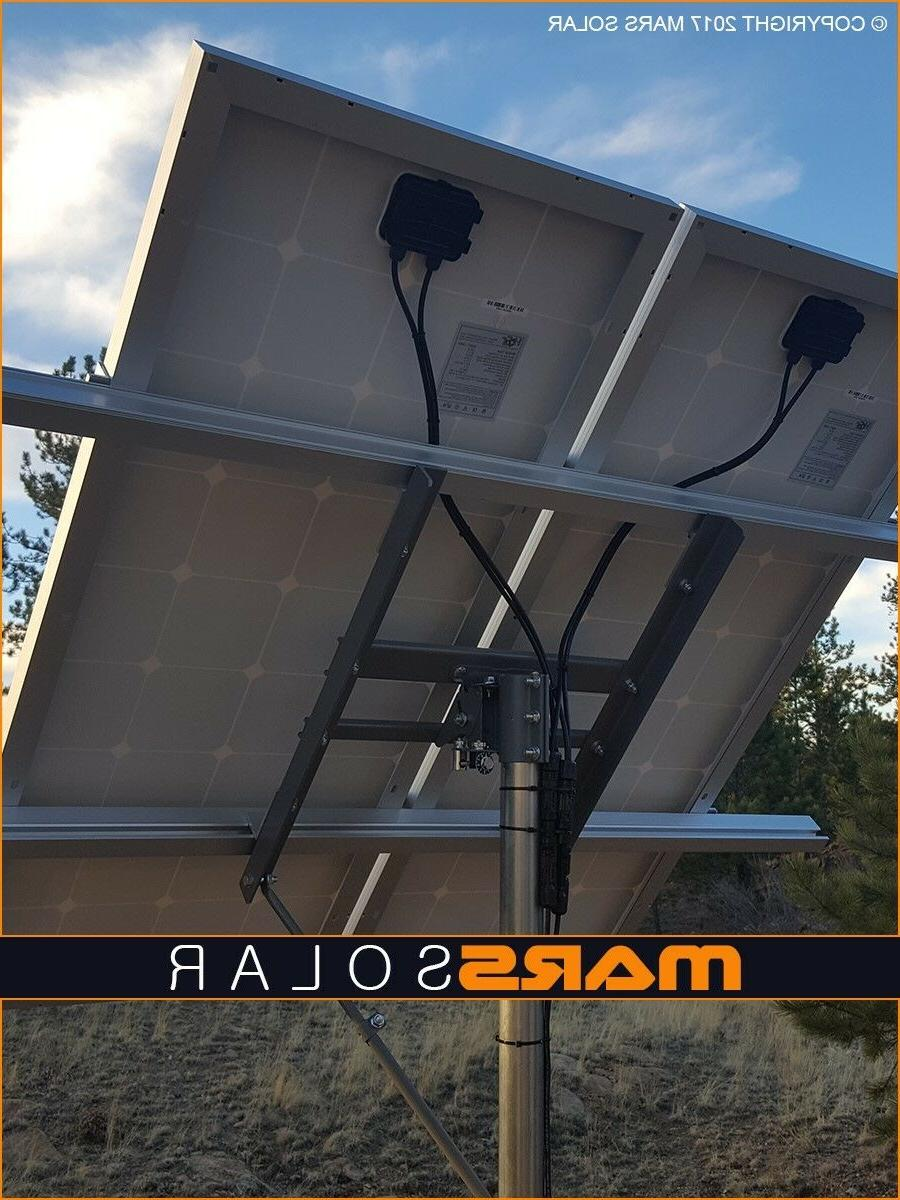 "Mars Solar V2.0 Solar Panel Rack System / 2""  Pole Mount Fit"