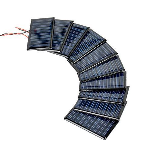 AOSHIKE Micro Solar Panels for Solar Mini Cells Materials Cells