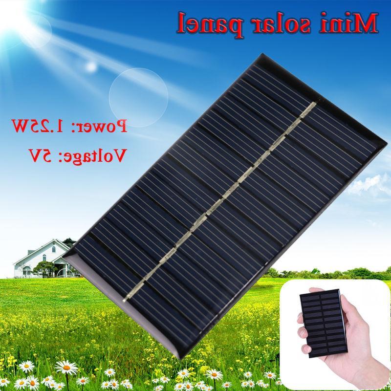 Mini 5V 1.25W Solar Panel Charger
