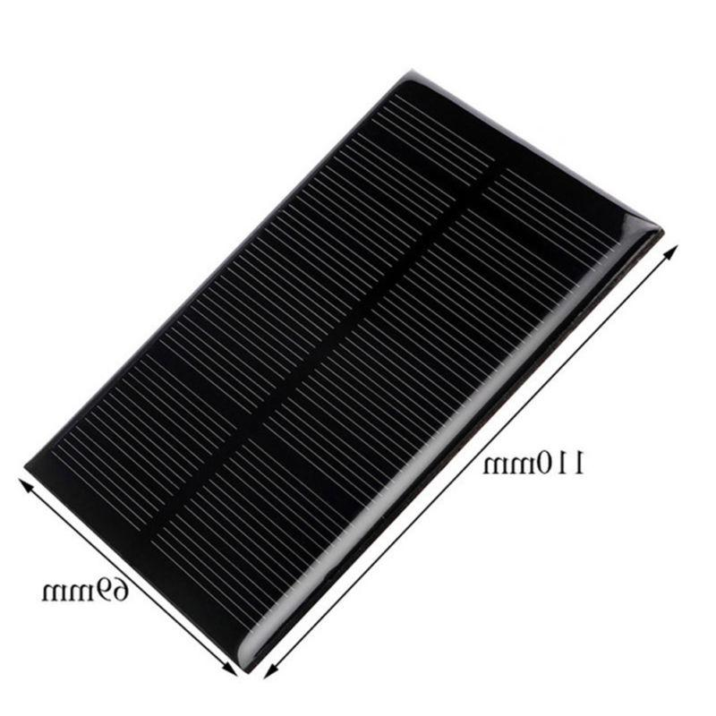 Mini 5V 1.25W Solar Panel Power Module For Light Battery Charger