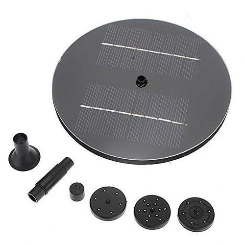 mini solar panel brushless water