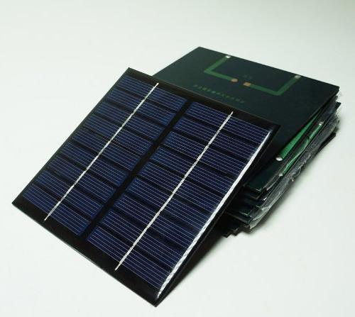 Sunnytech 1pc 2w 222ma Solar Module Solar Epoxy Charger B040