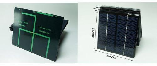 222ma Mini Solar Panel Module Solar System Epoxy Cell
