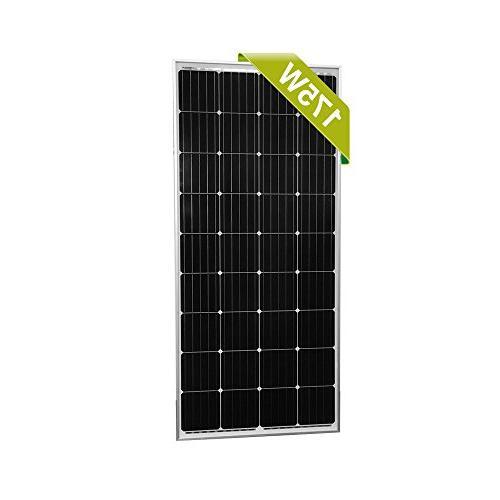 moncrystalline solar panel efficiency mono