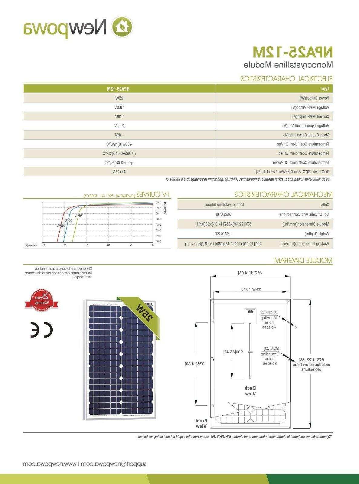 NewPowa 25W Effciency Module > Watt