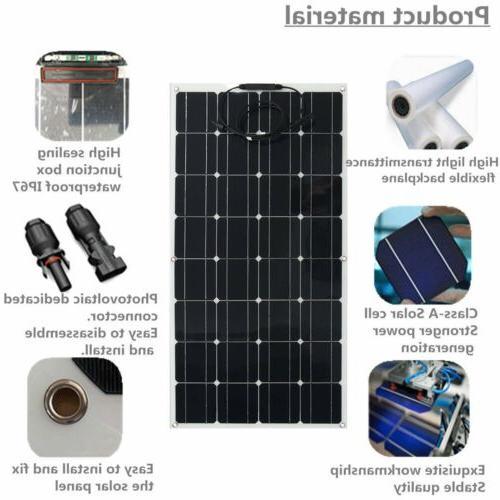 200 Watt Solar Off RV