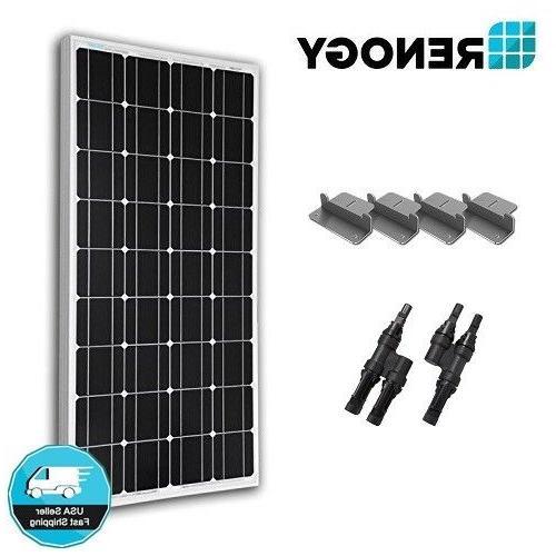 Renogy 100W Solar Panel Expansion Kit Z Y