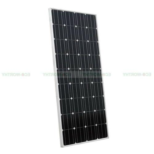 100W 12V Solar Panel for off Solar Kit Outdoor Camping RV