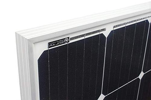 Mighty Watt Monocrystaline Solar Brand