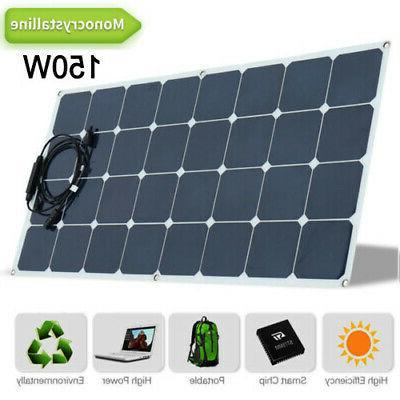 monocrystalline 18v 100watt solar panel flexible charge