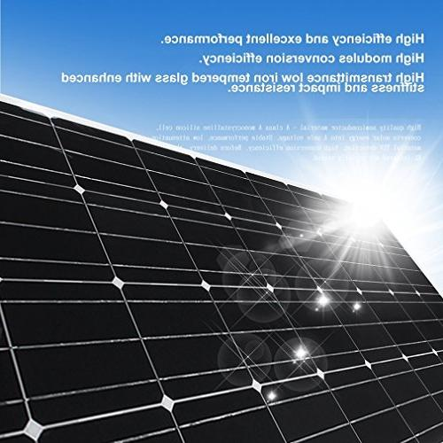 175W Solar Panel Mono for for RV, Boat, Other