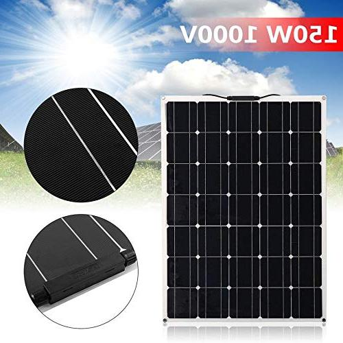 150W Monocrystalline Panel Power System