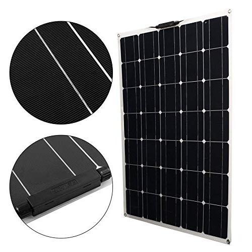 150W Monocrystalline Flexible Panel Power