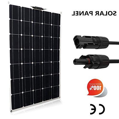 150W Flexible Panel Module Outdoor Solar Power