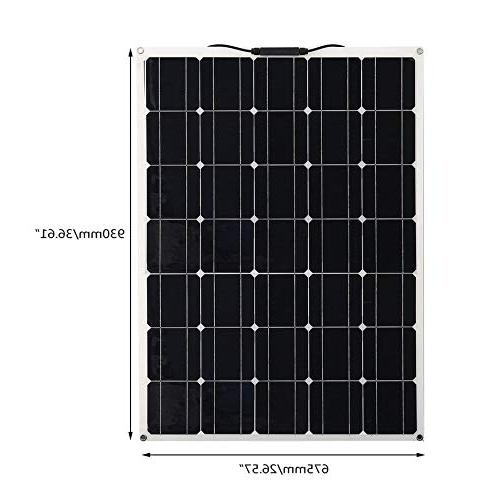 150W Monocrystalline Panel Solar Power System