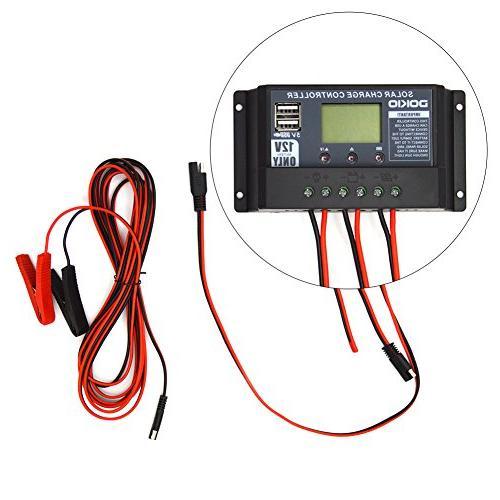 DOKIO Volts Monocrystalline Panel Charge Controller