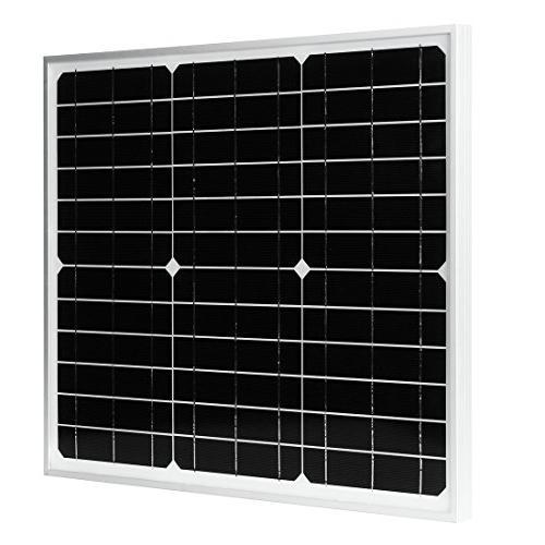 monocrystalline silicon solar panel used