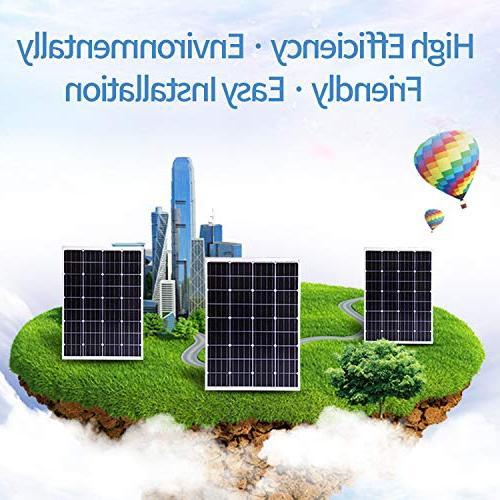 Komaes 12 Volts Solar panel