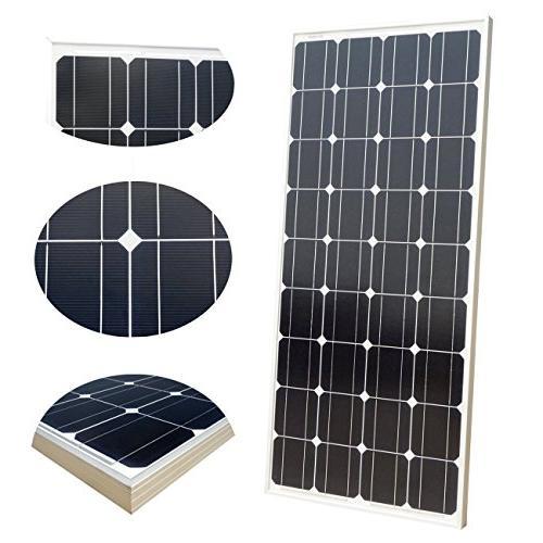 DC Solar Kit: 4pcs 100 Watt 12 Monocrystalline 20A MPPT