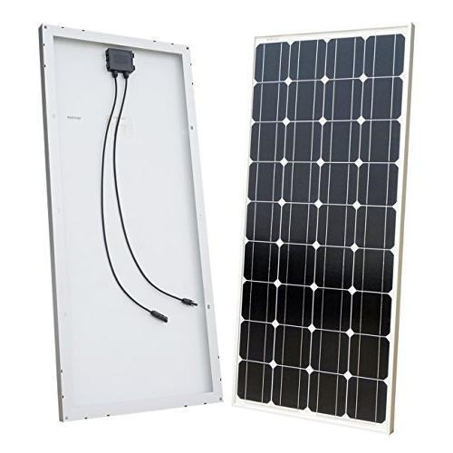 DC HOUSE Solar 4pcs 100 Watt Monocrystalline Solar with 20A Charge Controller