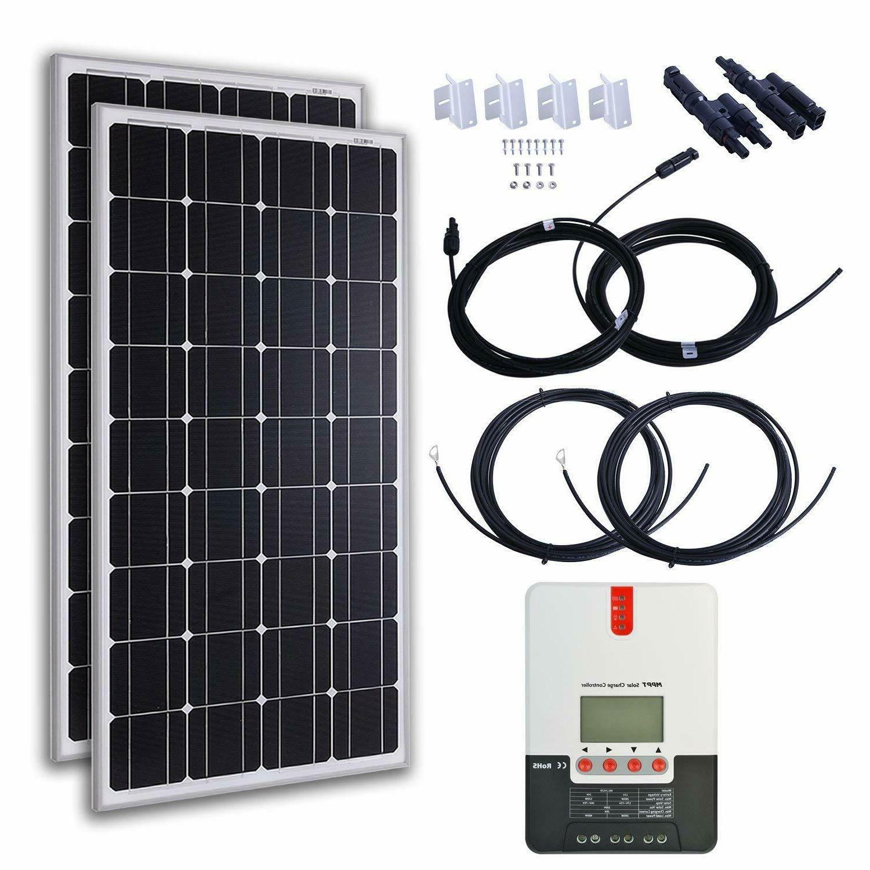 monocrystalline solar starter kit