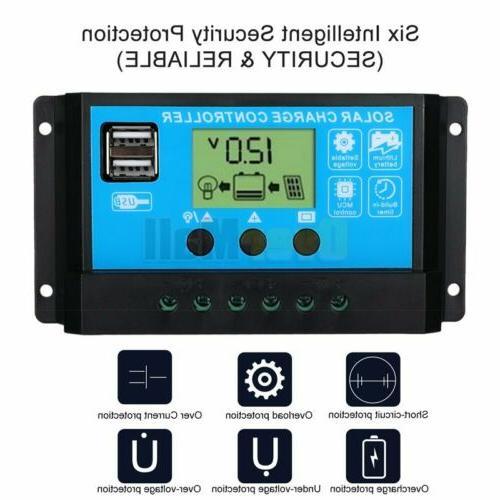 MPPT Solar Panel Regulator Charge Controller Tracking 30-100A 12V/24V
